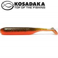 Мягкие приманки Kosadaka Kolbaso 100 мм / упаковка 4 шт / цвет: DM