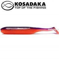 Мягкие приманки Kosadaka Kolbaso 100 мм / упаковка 4 шт / цвет: VF