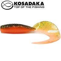 Мягкие приманки Kosadaka Jilt 75 мм / упаковка 8 шт / цвет: DM