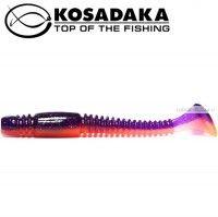 Мягкие приманки Kosadaka Tioga 100 мм / упаковка 6 шт / цвет: VF