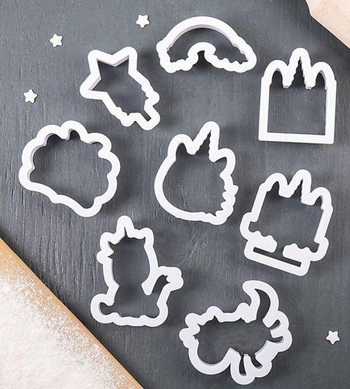 Набор форм для вырезания печенья «Воздушные сны единорога»