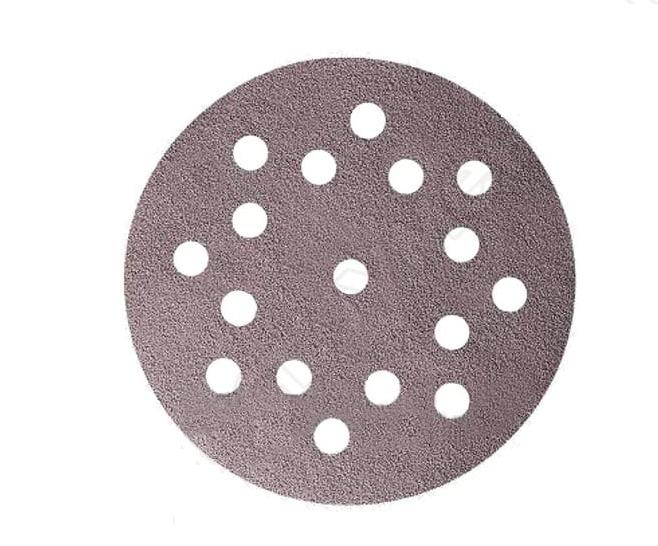 """Mirka Q.SILVER Абразивный круг на бумажной основе """"липучка"""" для Festool Multi-Jetstream 150мм., 17 отверстий, Р240, (упаковка 100 шт.)"""