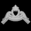 Угловой элемент Европласт Лепнина 1.52.285 Ш180хВ180хТ24
