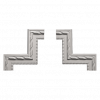 Угловой элемент Европласт Лепнина 1.52.294 Ш260хВ260хТ19