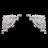 Угловой элемент Европласт Лепнина 1.52.313 Ш635хВ635хТ43
