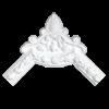 Угловой элемент Европласт Лепнина 1.52.326 Ш285хВ285хТ30