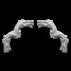 Угловой элемент Европласт Лепнина 1.52.400 Ш293хВ293хТ26
