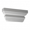Капитель Пилястры Европласт Лепнина 1.21.004 Ш403хВ183хГ75 мм
