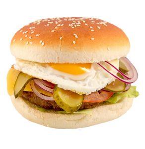 Бургер с яйцом
