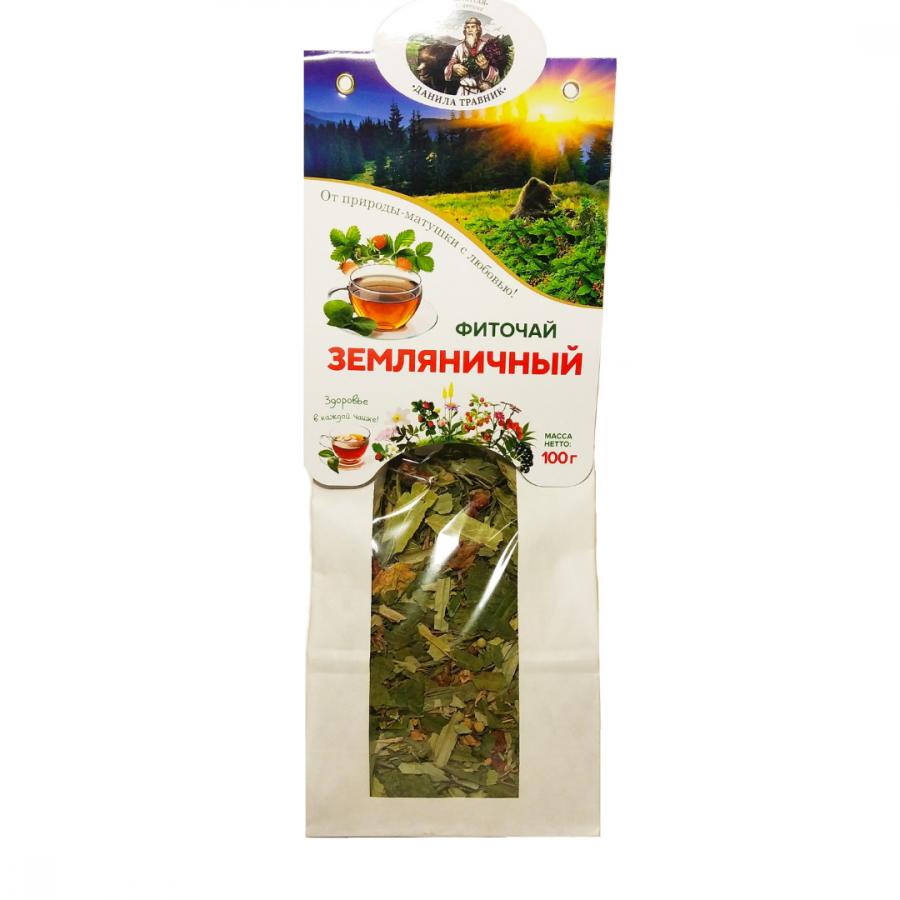 """Чай """"Земляничный"""" в бумажной упаковке"""
