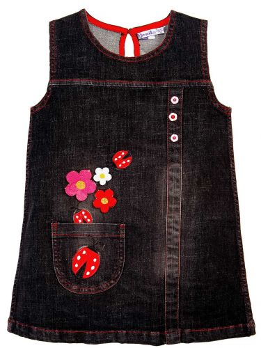 Джинсовый сарафан для девочки 2-5 лет Bonito BK768P4
