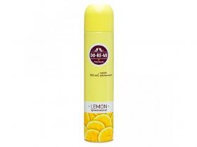 Освежитель воздуха До-Ре-Ми 330мл Премиум Лимон а13869