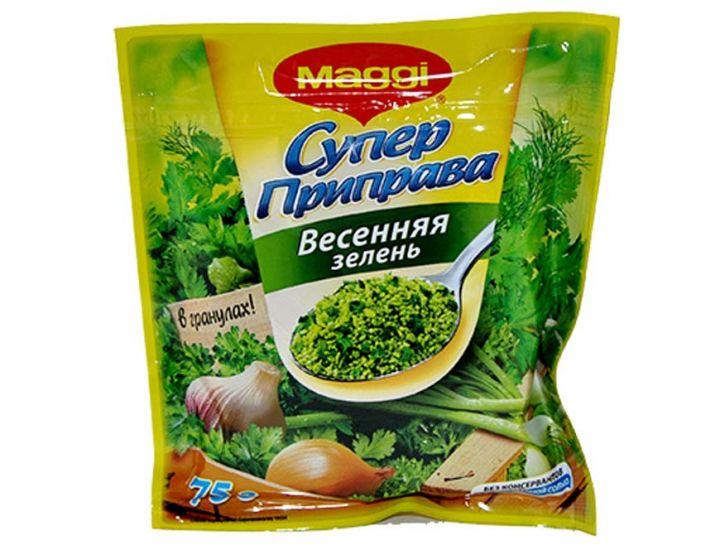 Приправа Магги Супер весенняя зелень 75г