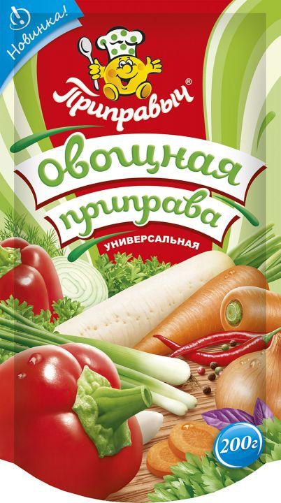 Приправа Приправыч универсальная овощная д/п 200г