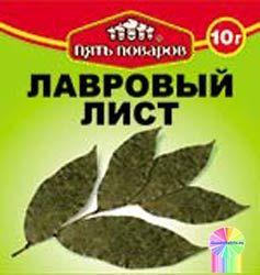 Приправа лавровый лист 10г 5 поваров