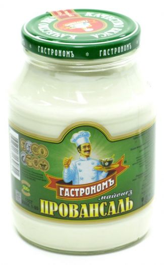 Майонез Гастроном Провансаль 67% ст/б 500г ООО Краспищепром
