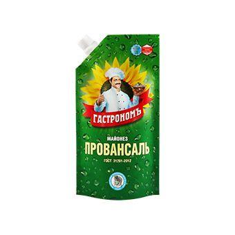 Майонез Гастроном Провансаль 67% д/пак 816г ООО Краспищепром