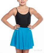 юбка гимнастическая голубая