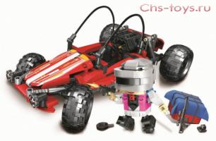 Конструктор Lari Battlegrounds Гоночный автомобиль 11082 () 570 дет