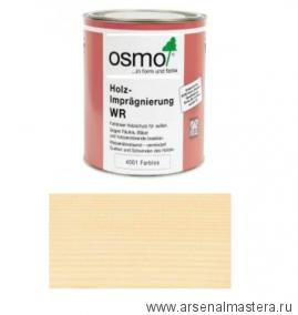 Антисептик для древесины для наружных работ Holz-Impragnierung WR Osmo 4001 0,75 л