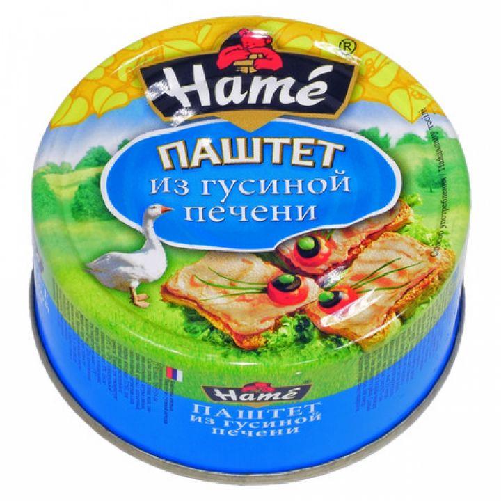 Паштет ХАМЕ 117г гусиная печень ж/б