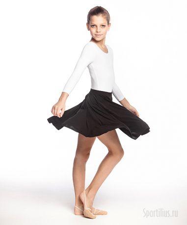 юбка гимнастическая чёрная