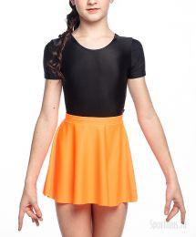 Юбка для гимнастики оранжевая