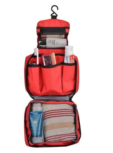 Органайзер для путешествий Travel Wash Bag, красный