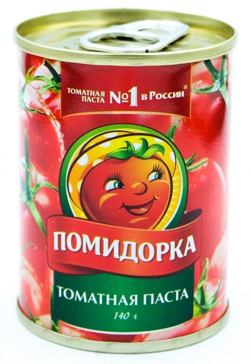 Томатная паста Помидорка ж/б, 140г