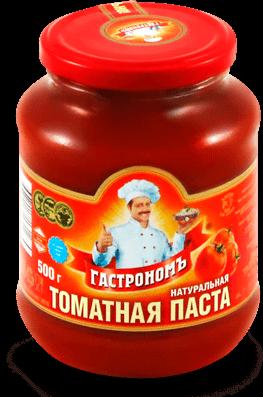 Томатная паста Гастроном ст/б, 500г