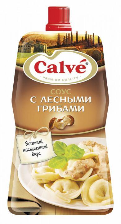 Соус Кальве для Пельменей с лесными грибами 230г пл/пак