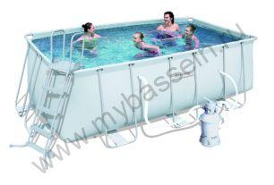 Бассейн Bestway 56457 4,12х2,01 h1,22 м с песочным фильтром