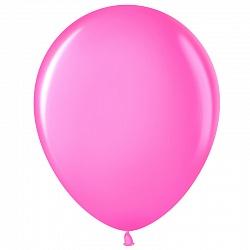 """Шар (5""""/ 13 см), розовый, фуше, 100 шт"""