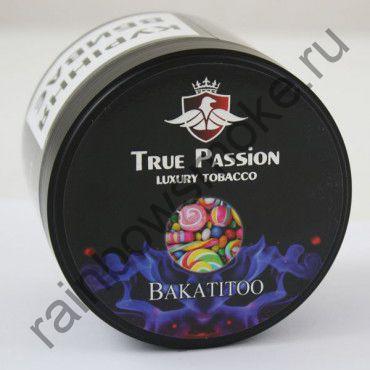 True Passion 200 гр - Bakatitoo (Жевательная Резинка и Фруктовый Лед)