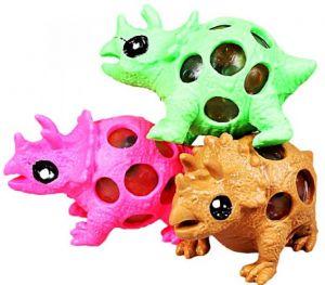 Мялка динозаврик с орбизами