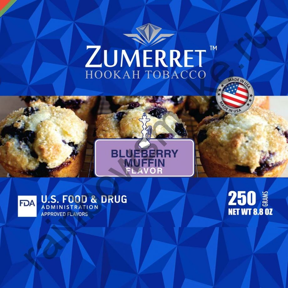 Zumerret Blue Edition 50 гр - Blueberry Muffin (Черничный Маффин)