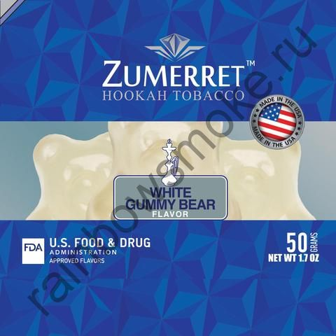 Zumerret Blue Edition 50 гр - White Gummy Bear (Белые Мишки Гамми)