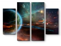 Модульная картина Планеты