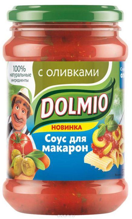 Соус Долмио с оливками 350г