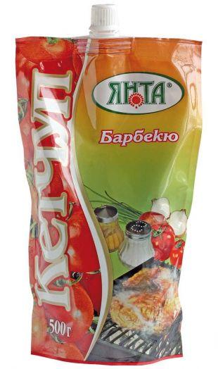 Кетчуп Янта Барбекю дой-пак с доз. 300г