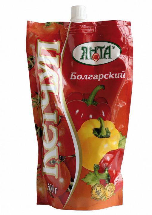 Кетчуп Янта Болгарский дой-пак с доз. 300г