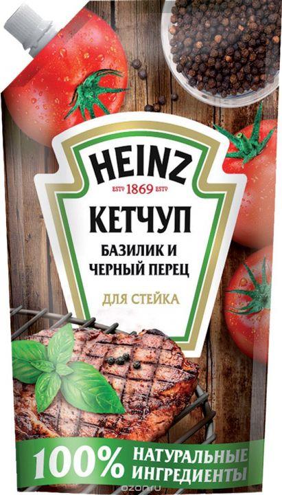 Кетчуп Хайнц для стейка д/п 350г
