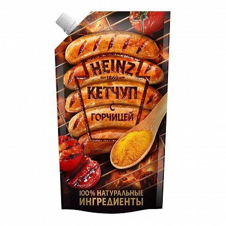 Кетчуп Хайнц с горчицей д/п 350г