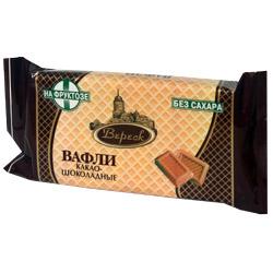 Вафли Вереск Какао-Шоколадные на фруктозе 60г
