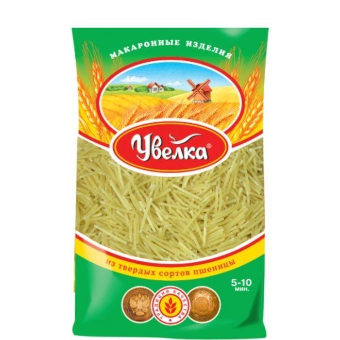 Мак.изделия Увелка Вермишель любительская 450г