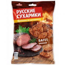 Сухарики Русские ржаные Буженина 50г Русскарт