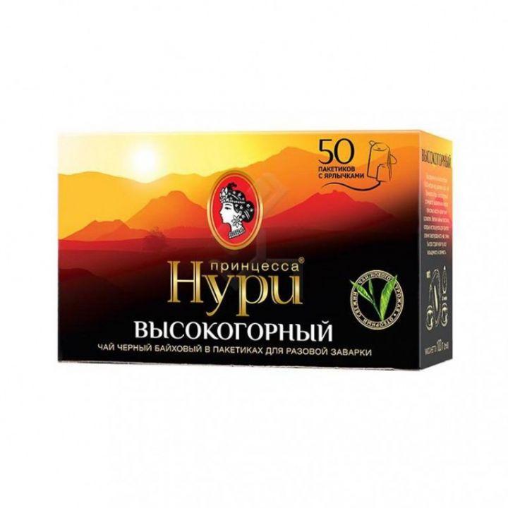 Чай Принцесса Нури Дабл HG с/я 50пак*2г