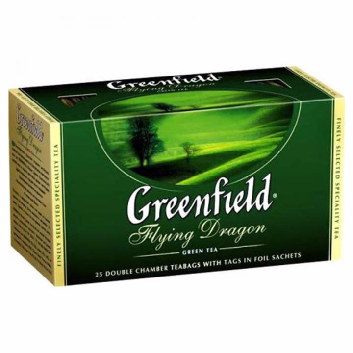 Чай Гринфилд Флаинг Драгон 25пак*2г