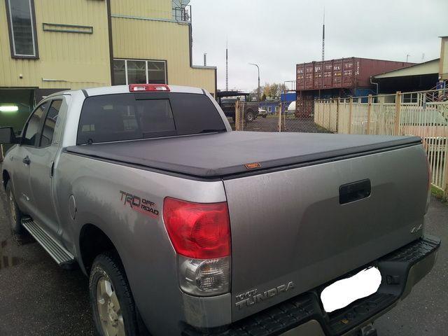 Трехсекционный тент Kramco для Toyota Tundra