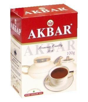 Чай Акбар красный/белый крупн.лист 100г